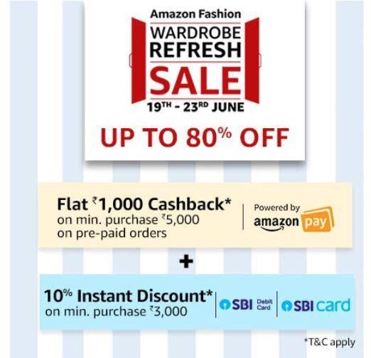 Amazon Fashion - Wardrobe Refresh Sale!