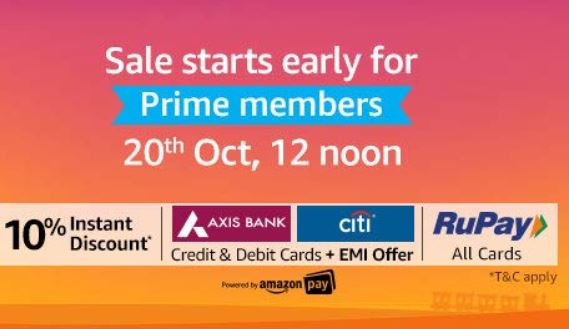 [Prime Members] Amazon Great Indian Festival Diwali Special