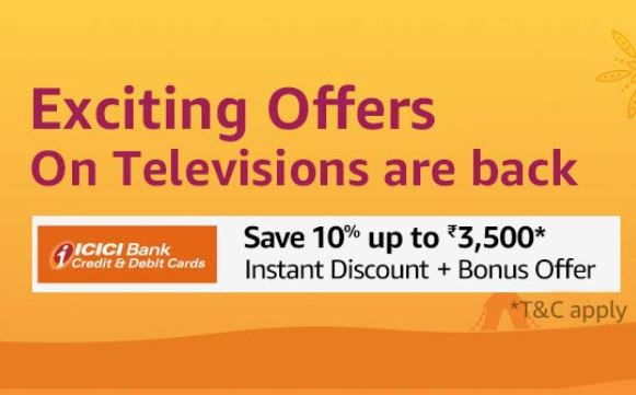 Tv Amazon Offer